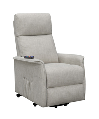 Power Lift Recliner with Wired Remote Beige