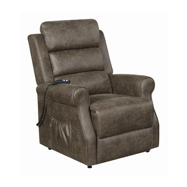 Power Lift Recliner Brown