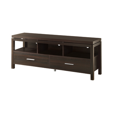 2-drawer TV Console Dark Walnut