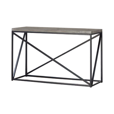 Rectangular Sofa Table Sonoma Grey