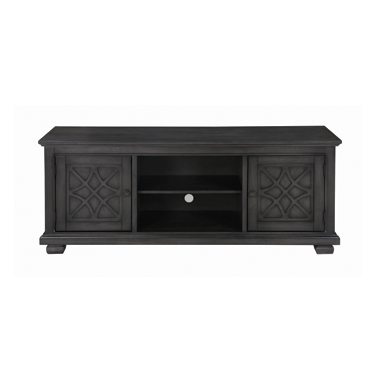 2-door TV Console Rustic Grey