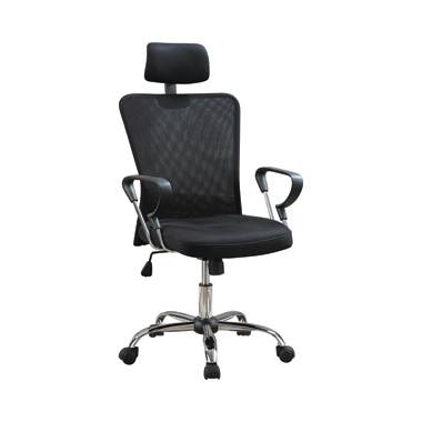 Mesh Back Office Chair Black and Chrome