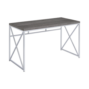 Vera Rectangular Writing Desk Weathered Grey