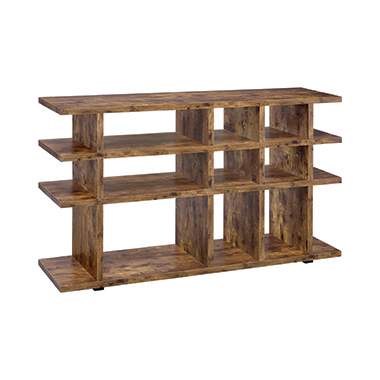 3-tier Bookcase Antique Nutmeg