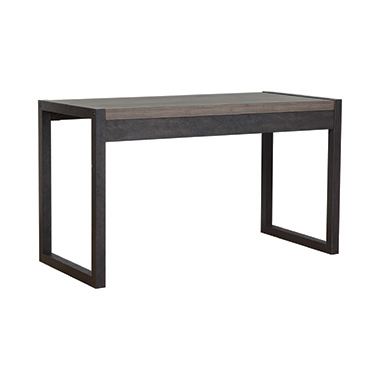 Luke Writing Desk Weathered Oak and Rustic Coffee