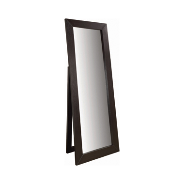 Rectangular Floor Mirror Cappuccino
