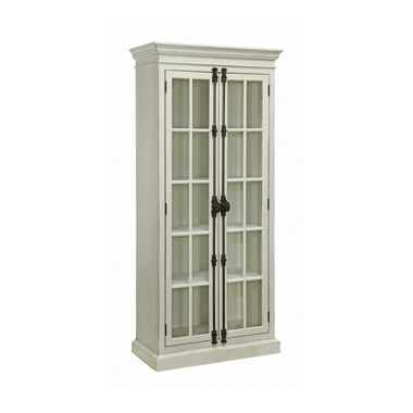 2-door Tall Cabinet Antique White