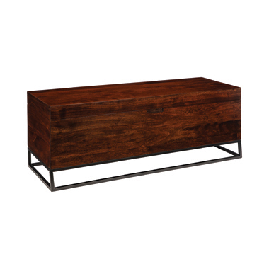 Rectangular Accent Bench Cinnamon