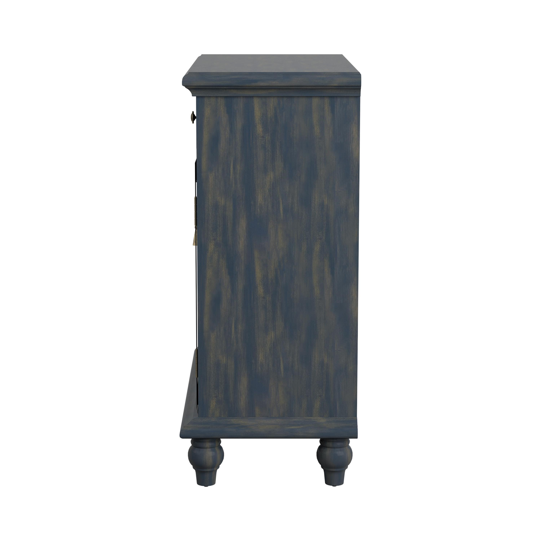 2 Door Accent Cabinet Blue Coaster Fine Furniture