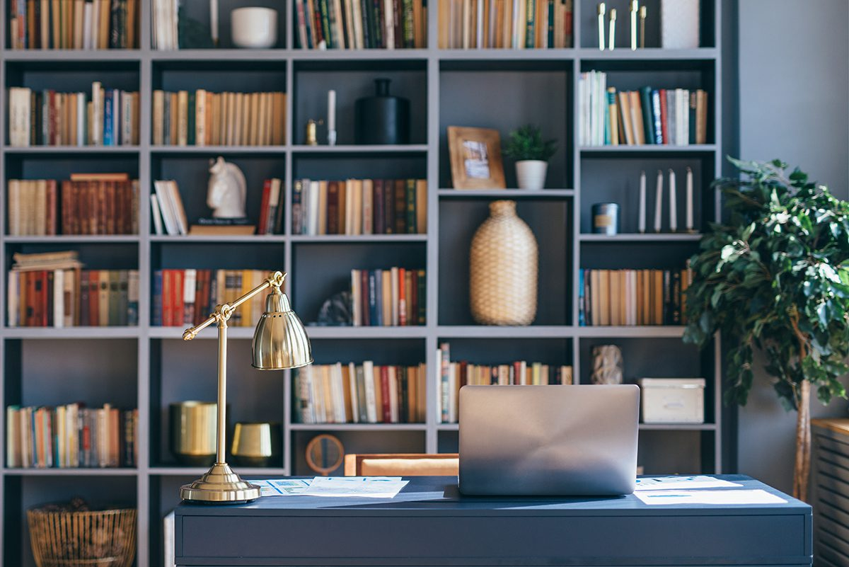 9 home library ideas for any budget and any style